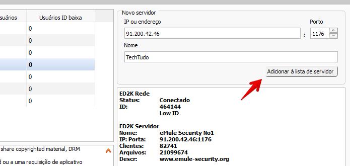 lista de servidores para emule