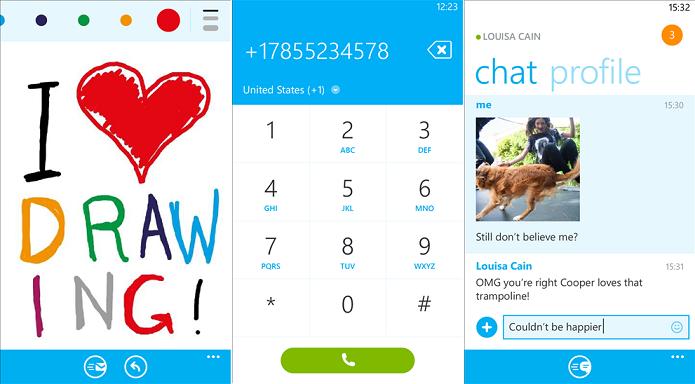Skype ganhou novo recurso de desenho para Windows Phone (Foto: Divulgação)