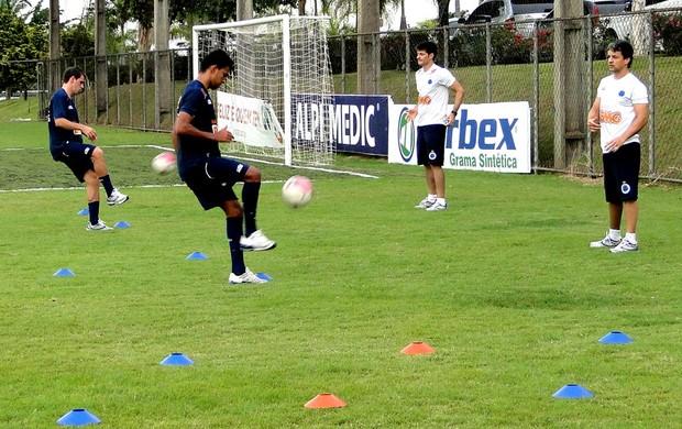 Treino Cruzeiro (Foto: Gabriel Medeiros / Tv Globo)