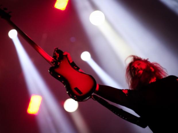 Mastodon toca no Palco Mundo nesta sexta (25) (Foto: Fabio Tito/G1)