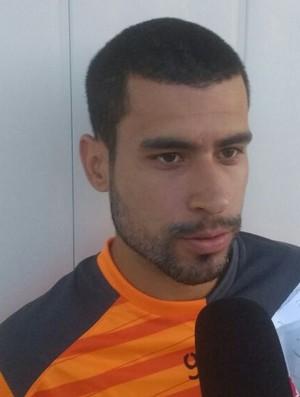 Sérgio Mota, meia do CRB (Foto: Denison Roma / GloboEsporte.com)