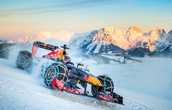 BLOG: Acelerando na neve da Áustria