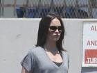 Grávida, Megan Fox exibe barriguinha em Hollywood