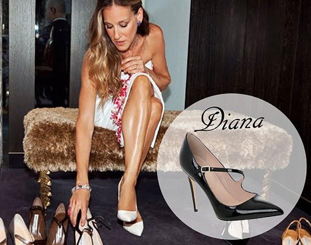 Sapato Diana - 350 dólares  (Foto: Divulgação)