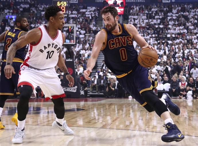 Kevin Love Cleveland Cavaliers vs. Toronto Raptors NBA (Foto: Divulgação/NBA)