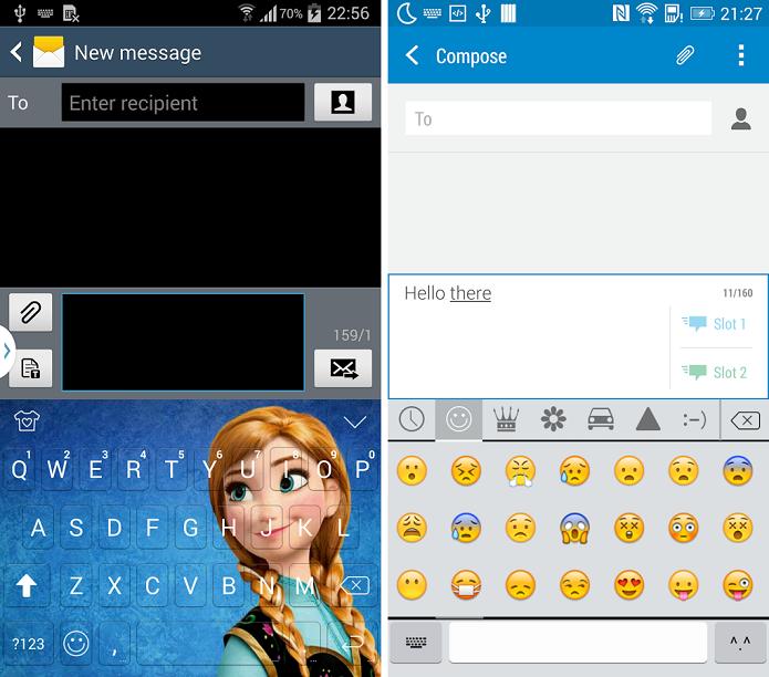 Emoji Keyboard é um aplicativo de teclado para Android (Foto: Reprodução/Emoji Keyboard)