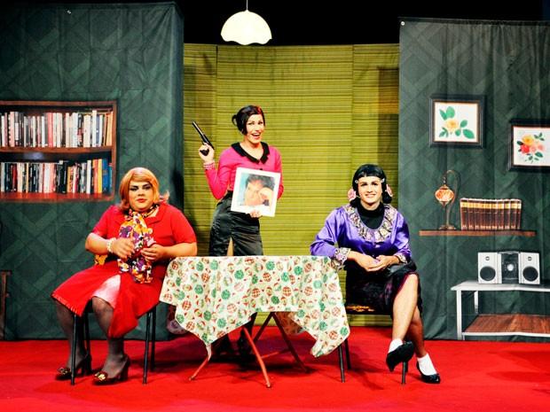 Comédia Jingobel em Salvador (Foto: Almir Jr)