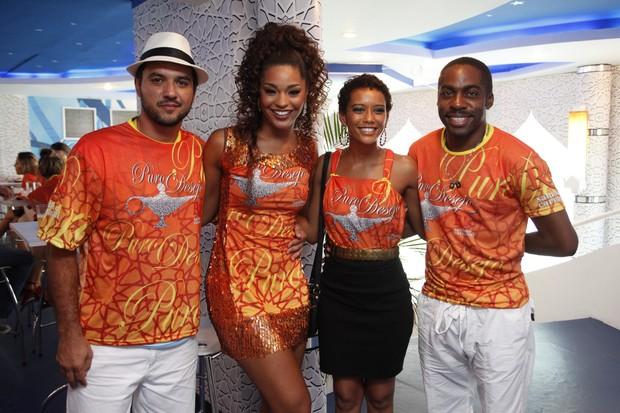 Guilherme Duarte,Juliana Alves,Lázaro Ramos e Tais Araujo (Foto: Fernando Azevedo/RSC)