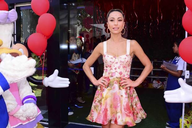 Sabrina Sato no Aniversário do sobrinho (Foto: Leo Fanco/Ag, News )