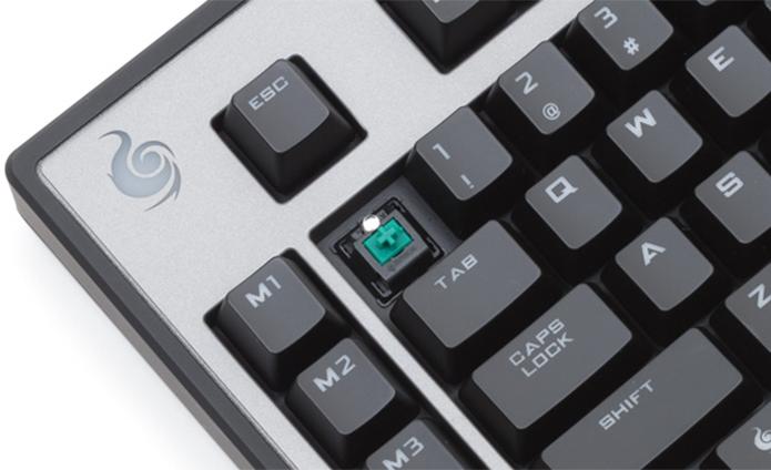 Switches são os mecanismos responsáveis por transmitir o seu comando para o controlador do teclado (Foto: Divulgação/CMStorm) (Foto: Switches são os mecanismos responsáveis por transmitir o seu comando para o controlador do teclado (Foto: Divulgação/CMStorm))