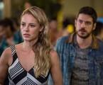 Zeca (Marco Pigossi) e Jeiza (Paolla Oliveira) em cena de 'A força do querer' | Reprodução