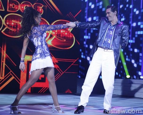 Giba Dança dos Famosos (Foto: Pedro Curi/ TV Globo)