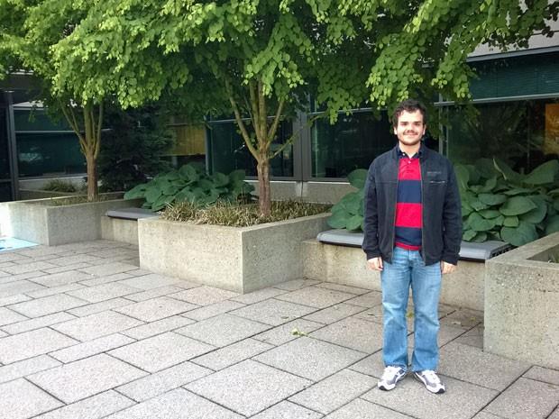 Guilherme Souza trabalha na Microsoft nos Estados Unidos (Foto: Arquivo pessoal)