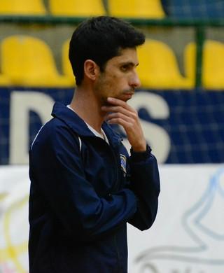 Eder Sousa técnico Mogi das Cruzes Vôlei (Foto: Bruno Rocha)