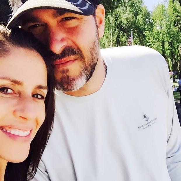 Soleil Moon Frye (Punky) e o marido (Foto: Reprodução/ Instagram)