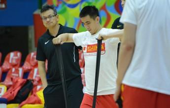 Seleção chinesa de basquete inicia preparação em Mogi de olho no Rio