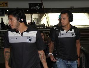 Ceará embarca confiante para jogo contra Joinville (Foto: Christian Alekson/CearaSC.com)