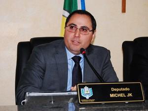Michel JK, deputado estadual do Amapá (Foto: Jaciguara Cruz/Decom/Alap)