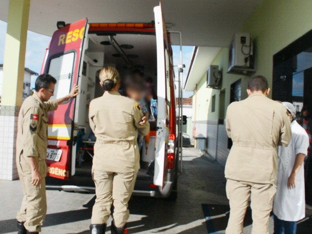Criança foi atacada por cachorro em Santa Rita, na Paraíba (Foto: Walter Paparazzo/G1)