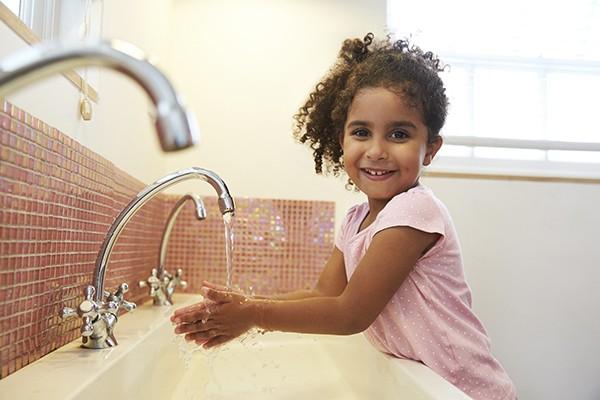 Mãos sempre limpas é sinal de saúde também  (Foto: Thinkstock)
