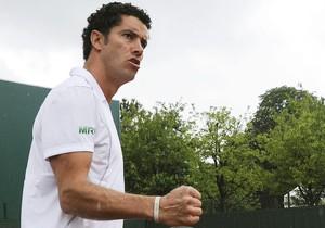 André Sá e Felciiano López primeira rodada Roland Garros (Foto: EFE)