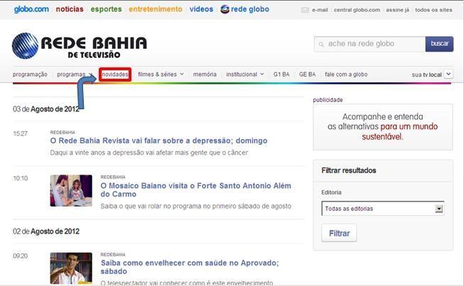 Rede Bahia (Foto: Divulgação)