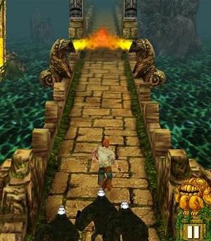 'Temple Run' é game de sucesso nos celulares (Foto: Divulgação)