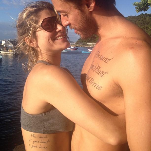 Priscila Fantin e Marido (Foto: Instagram / Reprodução)