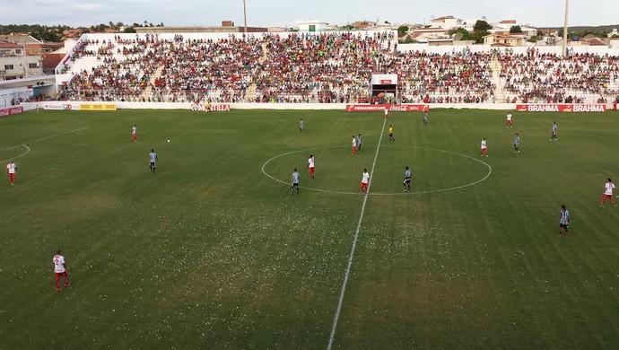 Salgueiro x porto-pe (Foto: Jadir Souza/TV Grande Rio)