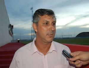 Luciano Mancha, gerente de futebol do Campinense (Foto: João Brandão Neto / GloboEsporte.com~)