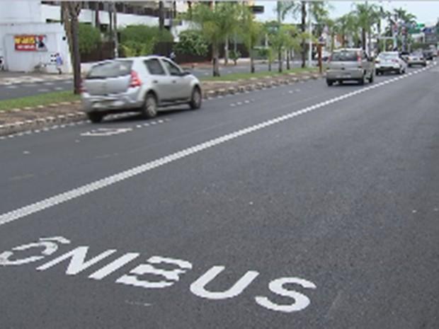 Corredor da Andaló é o primeiro do pacote de nove que fazem parte do Plano de Mobilidade Urbana (Foto: Reprodução/TV TEM)