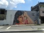 Daniella Perez é homenageada em pintura de muro em São Paulo