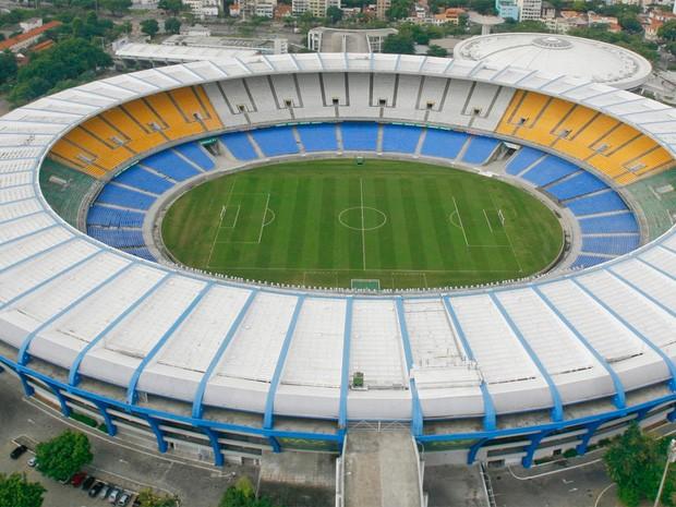 Estádio do Maracanã visto de cima. O local já abrigou duas finais de Copa de c60229dd20150