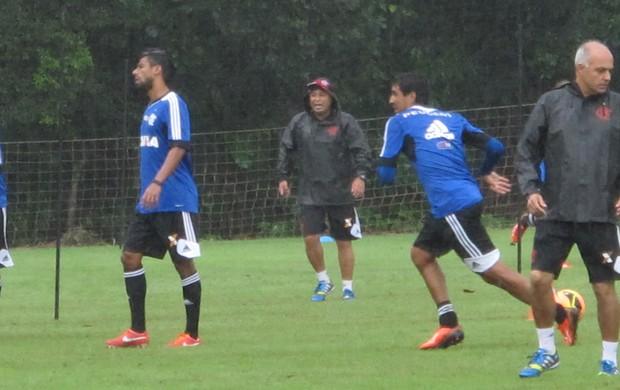 eduardo silva preparador físico Flamengo (Foto: Richard Souza)