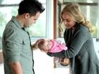 Angélica baba por bebês de João Neto e Frederico e lembra gravidez