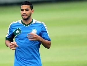 Alan Kardec treino Palmeiras (Foto: Marcos Ribolli / Globoesporte.com)