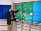 Raio-x da BR-101, no ES, mostra mais de 3 mil acidentes no ano