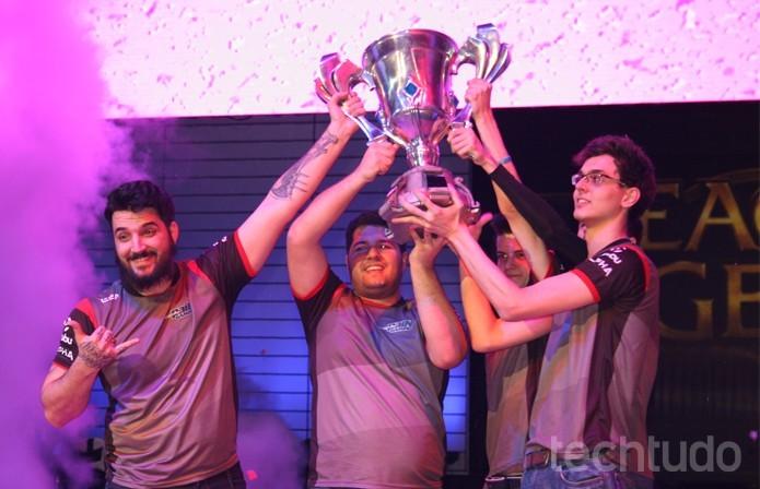 Pain Gaming é uma equipe profissional de League of Legends que já ganhou prêmios (Foto: Felipe Vinha / TechTudo)