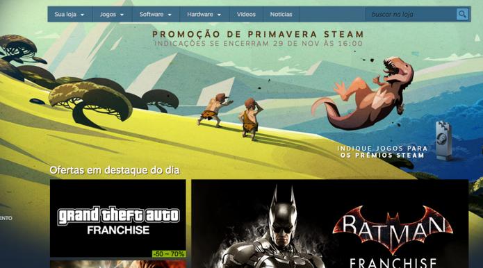 Promoção de Primavera no Steam  (Foto: Reprodução/Felipe Vinha)
