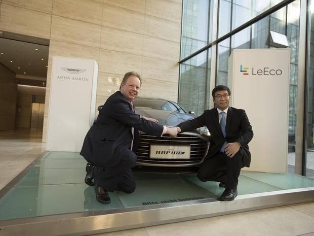 Aston Martin Rapide terá versão 100% elétrica (Foto: Divulgação)