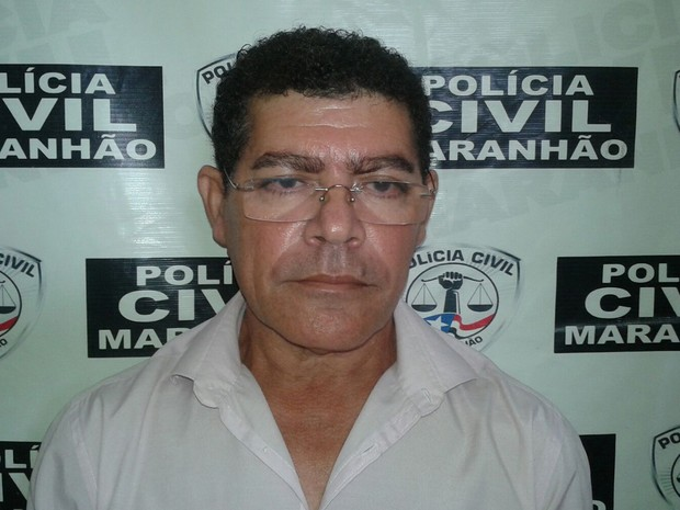 José Domingos Costa Pereira será transferido para o Complexo Penitenciário de Pedrinhas, na capital (Foto: Divulgação/Polícia Civil)