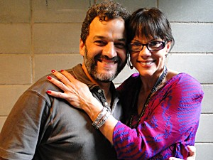Ingrid e o noivo, Marcello Guimarães (Foto: Malhação / TV Globo)