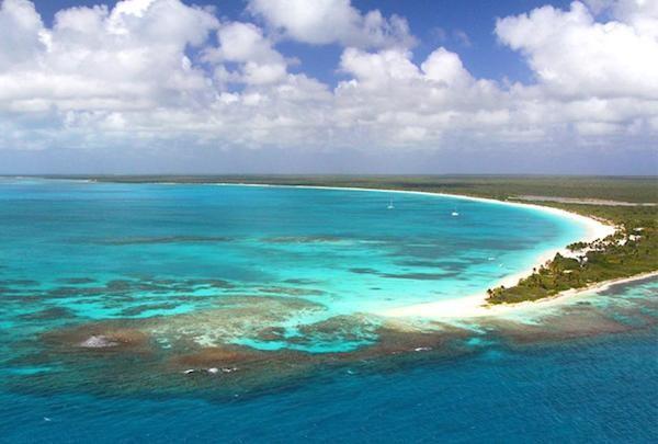 A ilha de Barbuda (Foto: Reprodução)