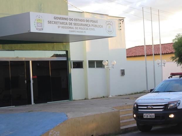Estupro coletivo é investigado pela delegacia regional de Campo Maior, no Piauí (Foto: Patrícia Andrade/G1)