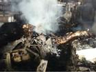 Avião que caiu no Paraná por pouco não atingiu igreja, diz empresário