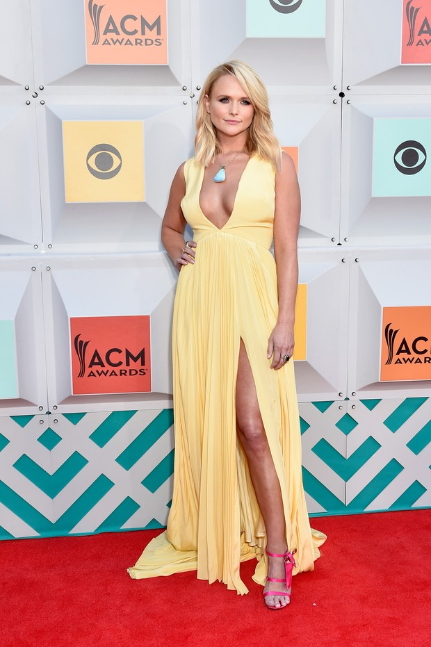 Miranda Lambert no ACM Awards (Foto: AFP)