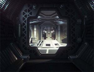 Corredores longos e sombrios e escapamentos de gás ajudam a assustar em 'Alien: Isolation' (Foto: Divulgação/Sega)