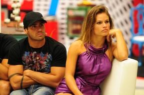 Yuri e Natália no BBB 13 (Foto: João Cotta/TV Globo)