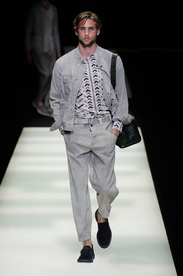 Giorgio Armani - Semana de Moda de Milão Verão 2018 (Foto: Imaxtree)