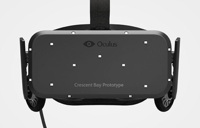 Crescent Bay Prototype, versão do Rift lançada logo após compra da Oculus pelo Facebook (Foto: Divulgação/Oculus VR)